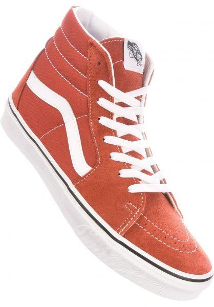 Vans Alle Schuhe Sk8-Hi picante-truewhite vorderansicht 0601364