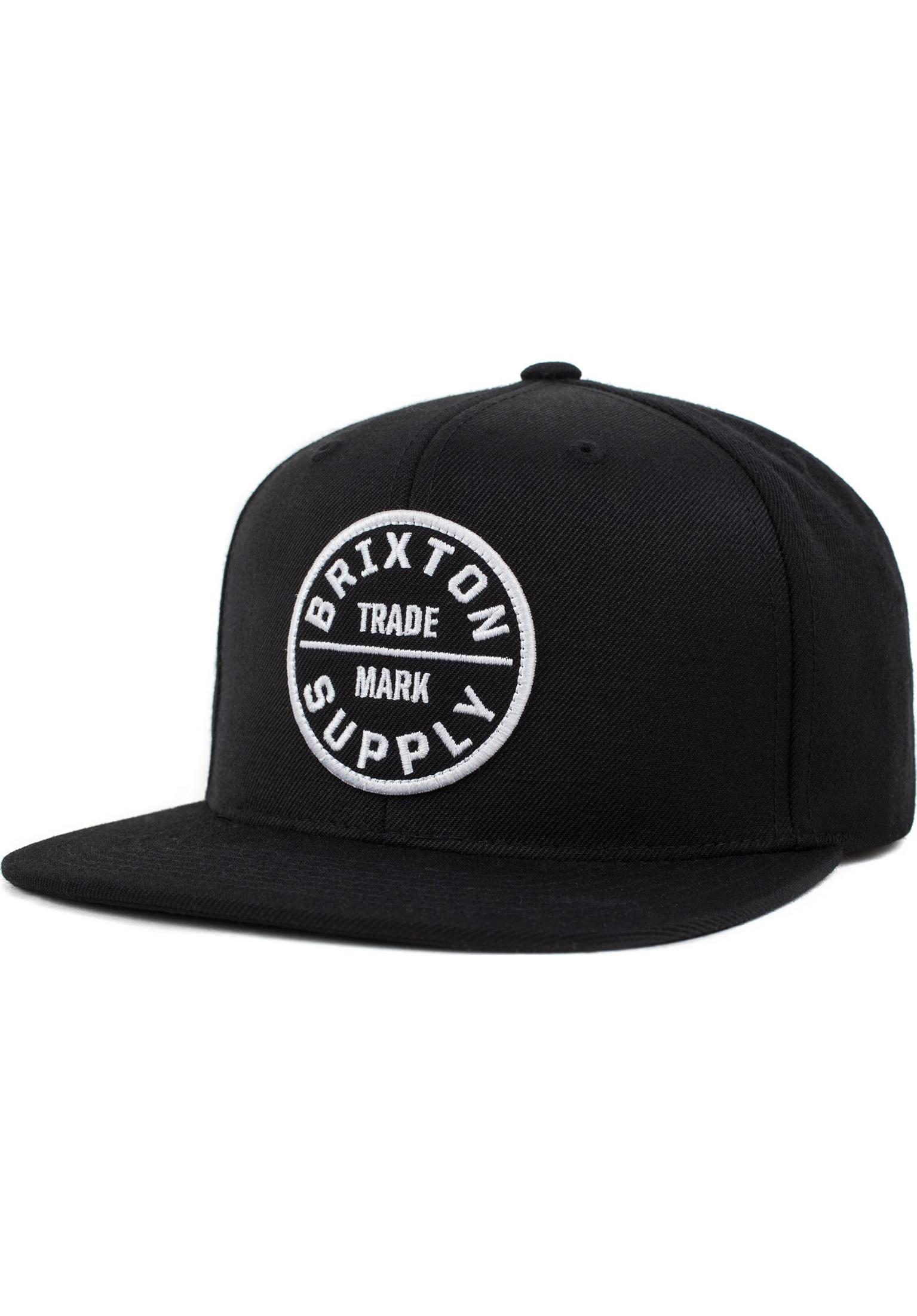 online retailer c0721 c2a62 Oath III Brixton Caps in black for Men   Titus