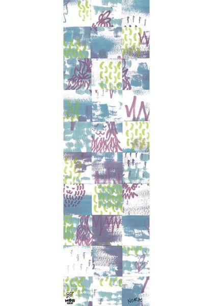 MOB-Griptape Griptape Krux Nora Pattern white-blue vorderansicht 0142371