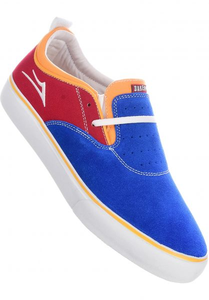 Lakai Alle Schuhe x Baker Riley 2 blue-red-yellow vorderansicht 0604700