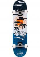 inpeddo-skateboard-komplett-island-petrol-vorderansicht-0161922