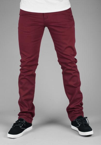 Reell Jeans Skin wine-red Vorderansicht