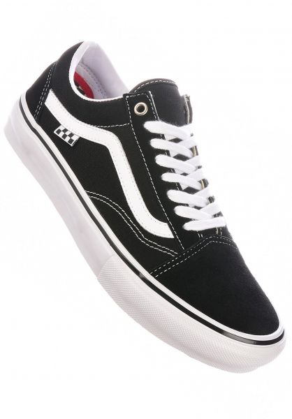 Vans Alle Schuhe Skate Old Skool black-white vorderansicht 0604963