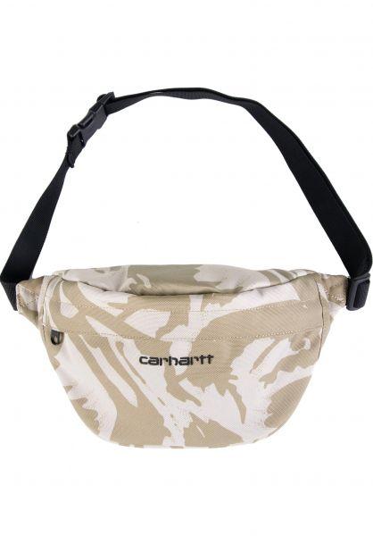 Carhartt WIP Hip-Bags Payton Hip Bag camobrush-sandshell-black vorderansicht 0169077