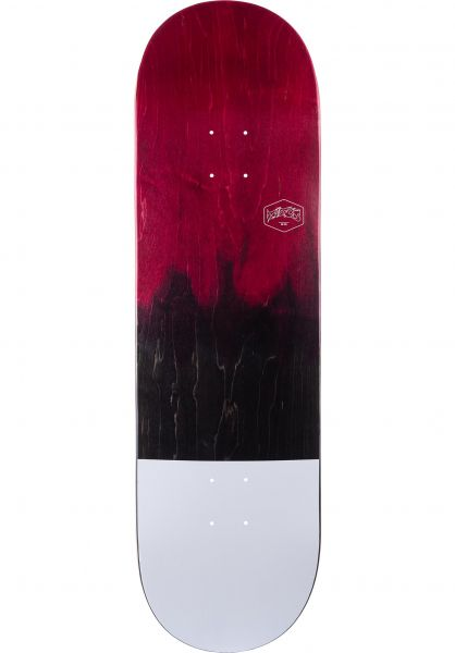 TITUS Skateboard Decks Dip Color-Fade red-black vorderansicht 0260585