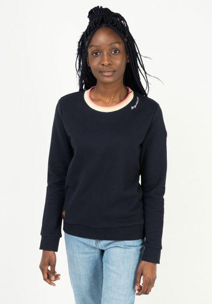 Ragwear Sweatshirts und Pullover Ermie navy 121 vorderansicht 0422988