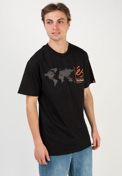 ES T-Shirts Digi Map black vorderansicht 0322616
