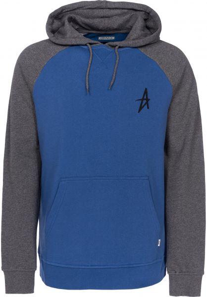Altamont Hoodies A Pullover grey-blue Vorderansicht