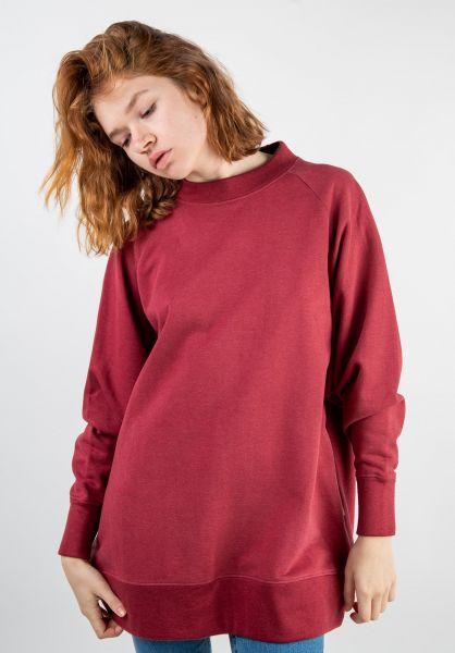 Wemoto Sweatshirts und Pullover Hirst darkredmelange vorderansicht 0422738