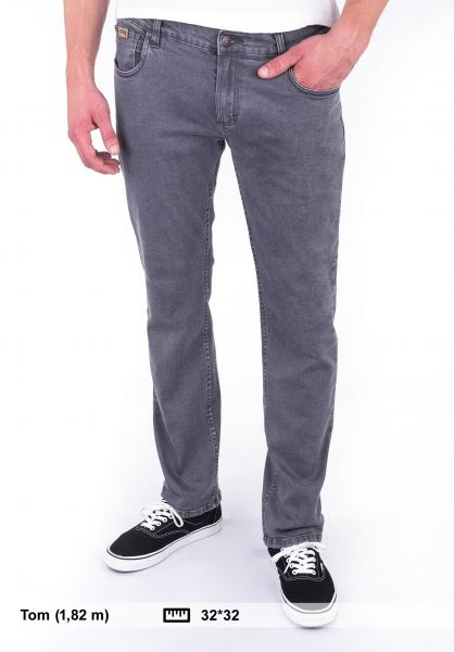 TITUS Jeans Tube Fit stonegrey Vorderansicht