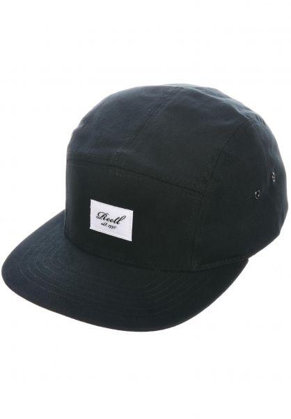 Reell Caps 5-Panel black vorderansicht 0566648