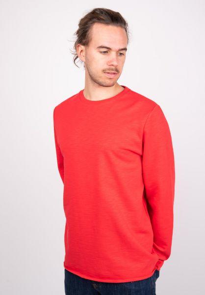Forvert Sweatshirts und Pullover Rapet red vorderansicht 0422546