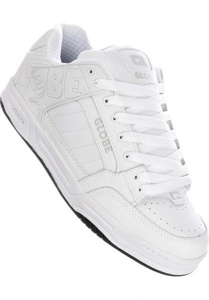 Tilt Globe All Shoes in white-white for