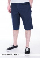 Dickies-Chinoshorts-13-Slim-Fit-Work-Short-darknavy-Vorderansicht
