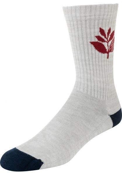 Magenta Socken Plant ash vorderansicht 0631792