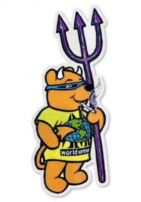 "Prime Rocco World Industries 3"" Sticker"