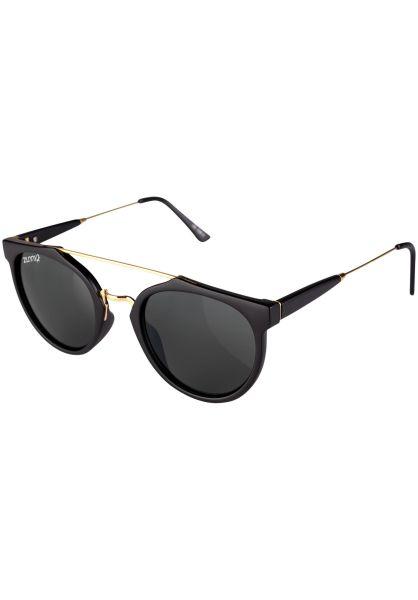 Zunny Sonnenbrillen Modern Cäptn black-gold-green Vorderansicht 0590562