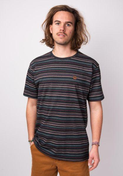 TITUS T-Shirts Finbar darkgreymottled vorderansicht 0398346