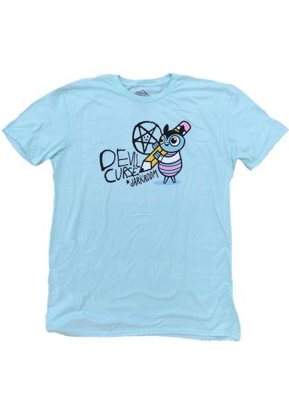 Darkroom T-Shirts Curse tealice vorderansicht 0320466