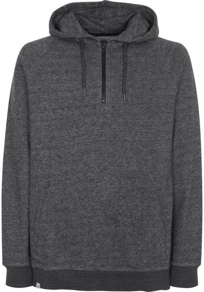 Reell Hoodies Quarter Zip anthracitegrey Vorderansicht