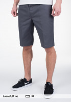 Dickies-Chinoshorts-11-Slim-Straight-Work-charcoal-Vorderansicht