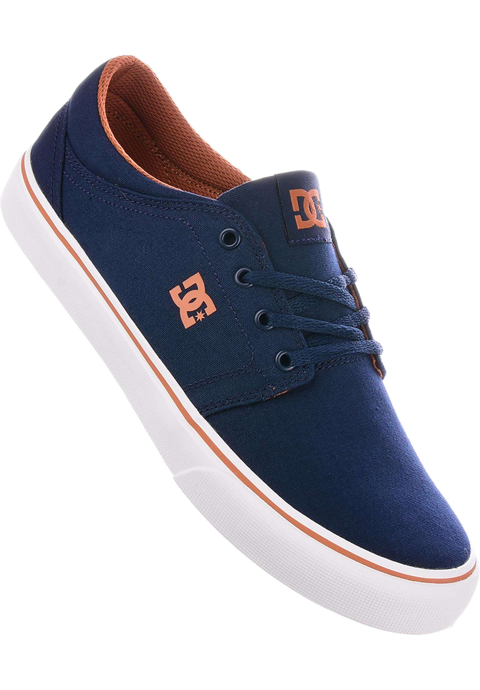 Trase TX DC Shoes All Shoes in navy-camel for Men  62e1e1ac68