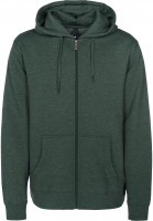 Red-Dragon Zip-Hoodies 3MCA heatherforest Vorderansicht
