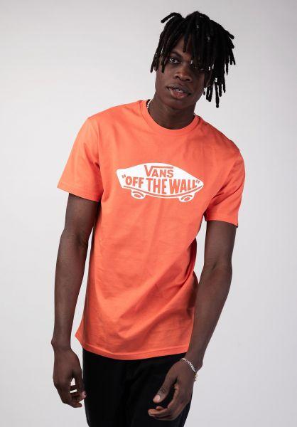 Vans T-Shirts OTW emberglow vorderansicht 0036985
