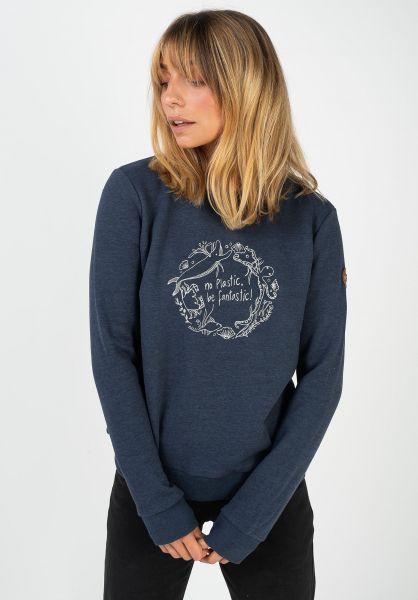 Ragwear Sweatshirts und Pullover Effa navy 320 vorderansicht 0422987