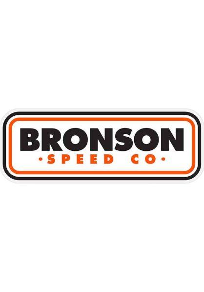 Bronson Speed Co. Verschiedenes Patch black-orange vorderansicht 0972265