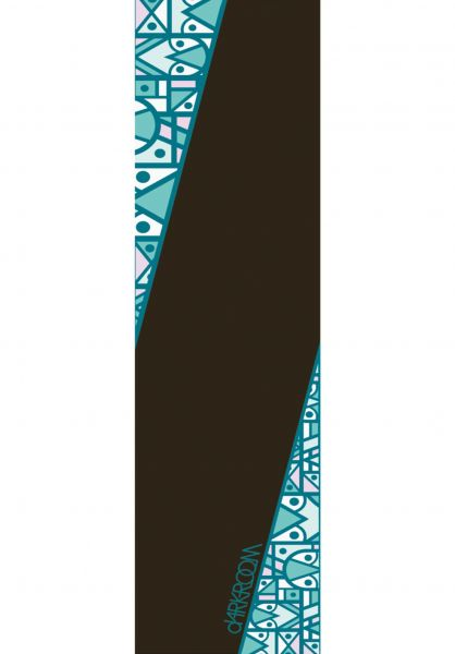 Darkroom Griptape Silver black-multicolored vorderansicht 0142445