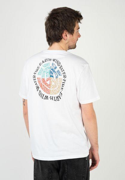 Element T-Shirts Audobon opticwhite vorderansicht 0323368