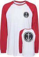 Captain-Fin-Longsleeves-Tally-Ho-white-red-Vorderansicht