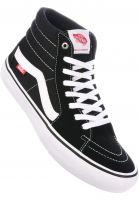 Vans-Alle-Schuhe-Sk8-Hi-Pro-black-white-Vorderansicht