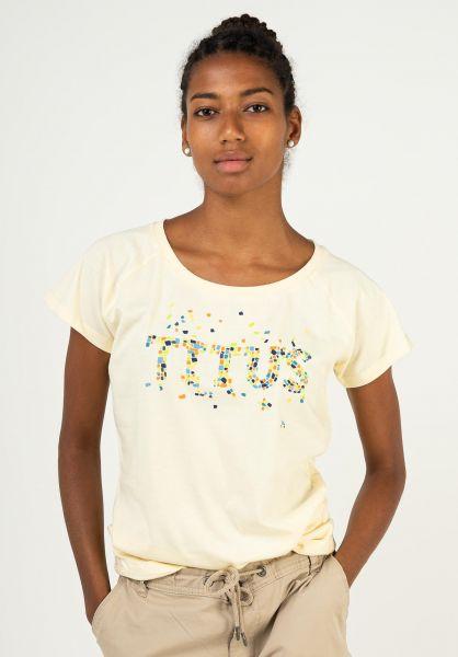 TITUS T-Shirts Fleck yellow vorderansicht 0398502