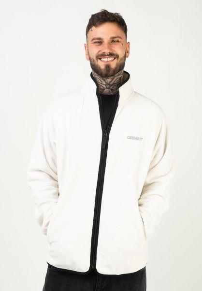 Carhartt WIP Übergangsjacken Beaufort Jacket wax-reflectivegrey vorderansicht 0504466