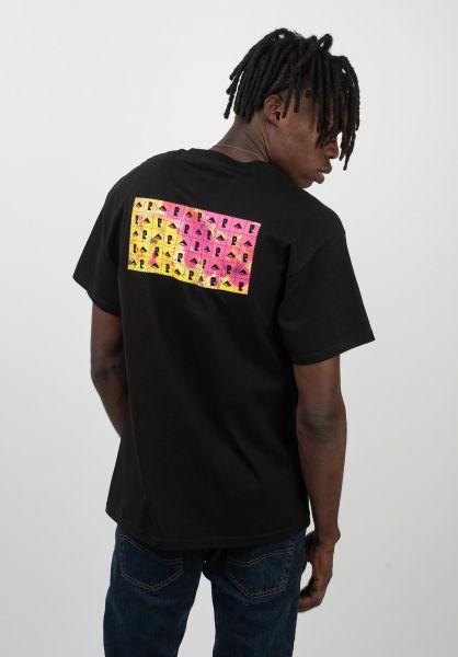 Emerica T-Shirts x Psockadelic Blotter black vorderansicht 0320367