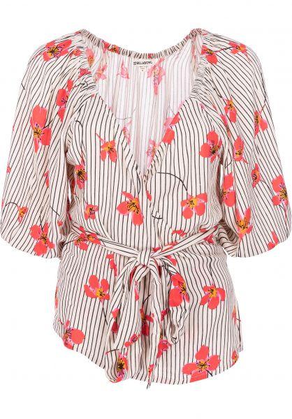 Billabong Hemden kurzarm New Lust whitecap vorderansicht 0400843