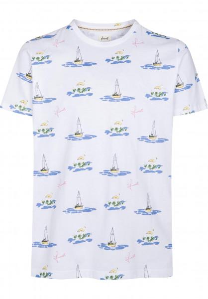 Forvert T-Shirts Boattrip white Vorderansicht