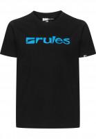 Rules T-Shirts Basic black Vorderansicht