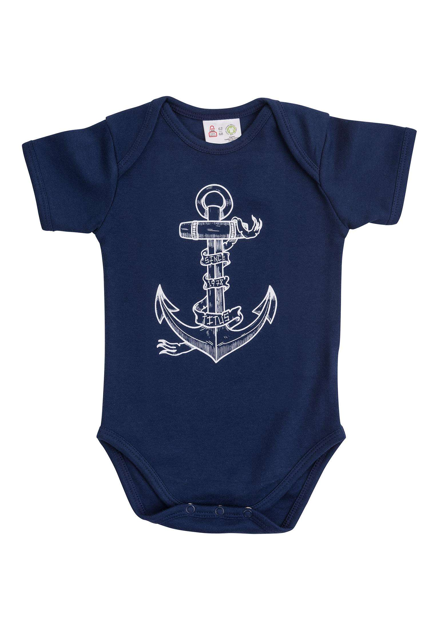 eab4b97e5ca6 Anchor Body Organic Mini TITUS T-Shirts in navy for Kids   Titus