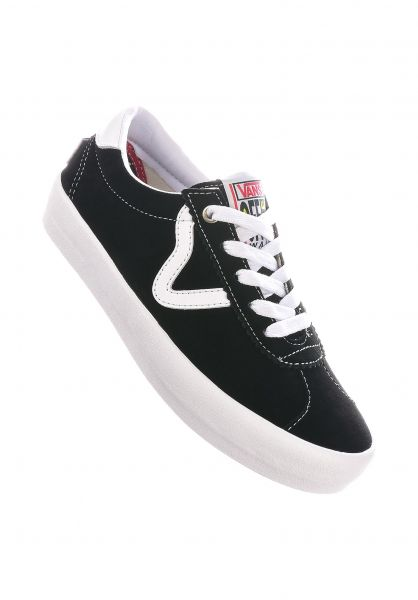 Vans Alle Schuhe Epoch Sport black-white vorderansicht 0612567
