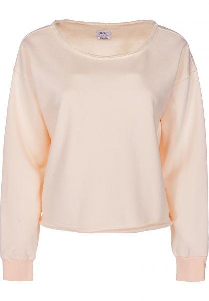 RVCA Sweatshirts und Pullover Stranger tearose vorderansicht 0422568