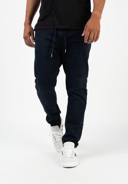 Reell Jeans Jogger Jeans knittedblueblack vorderansicht 0277003