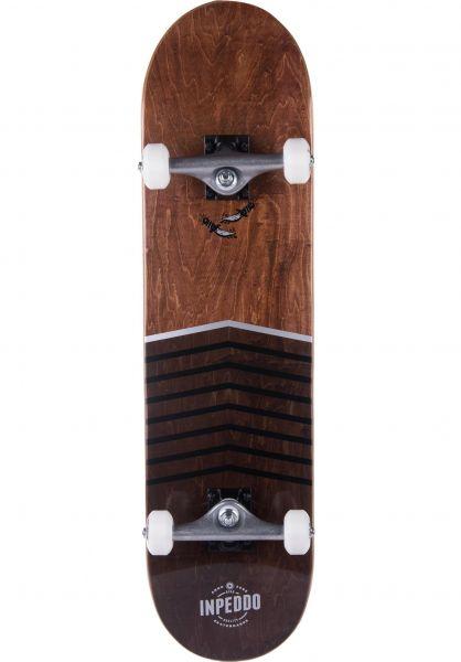 Inpeddo Skateboard komplett Knife brown Vorderansicht