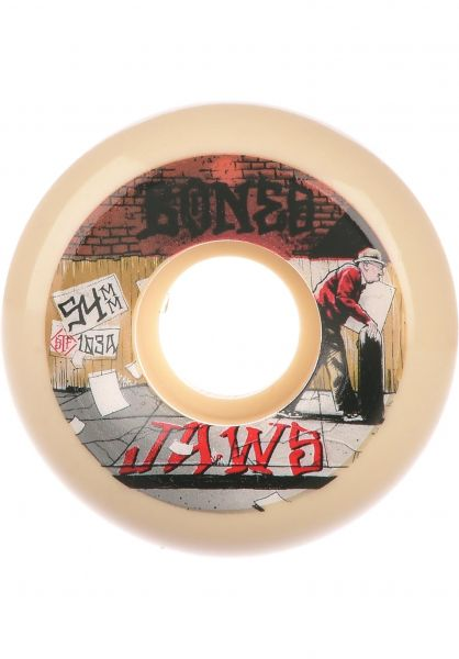 Bones Wheels Rollen STF Homoki Down 4 Life 103A V5 Sidecut white vorderansicht 0135359