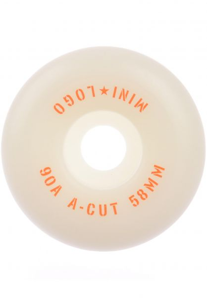 Mini-Logo Rollen A-Cut #3 Hybrid 90A white vorderansicht 0134701