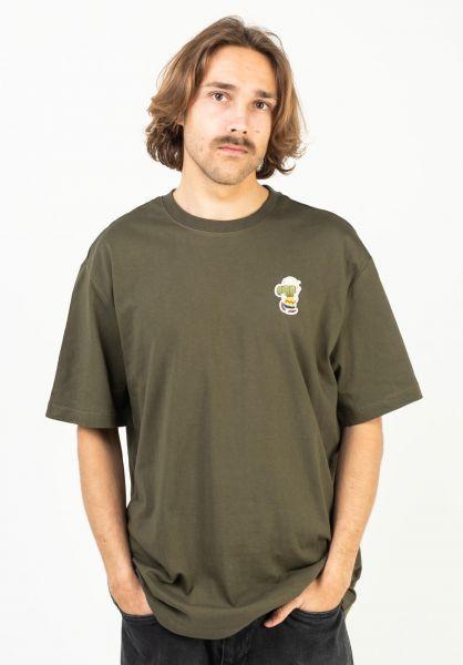 Element T-Shirts x Peanuts Patches army vorderansicht 0323349