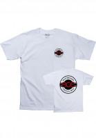 Ace T-Shirts Round Logo white Vorderansicht