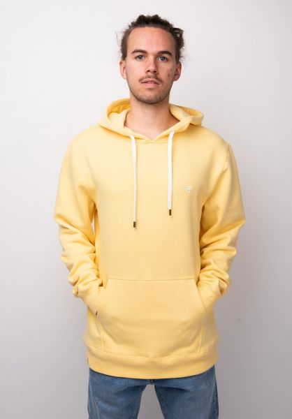 TITUS Hoodies Uni Hood yellow vorderansicht 0442202